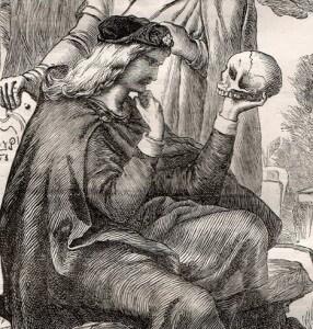 hamlet et crâne Henry Courtney Selous